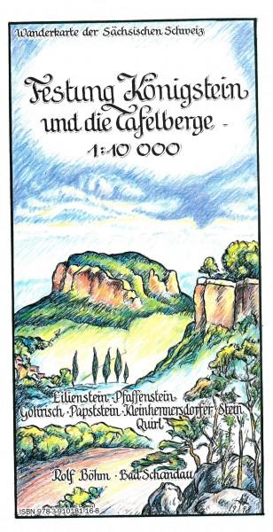 Festung Königstein und die Tafelberge