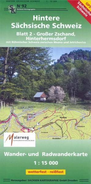 Hintere Sächsische Schweiz - Blatt 2