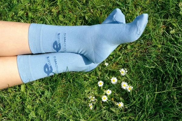 Elberadweg Kinder-Socke