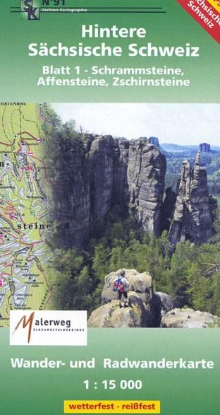 Hintere Sächsische Schweiz - Blatt 1