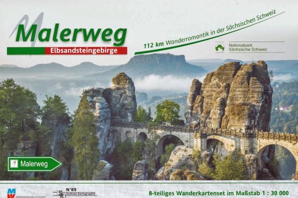 Wanderkartenset - Malerweg