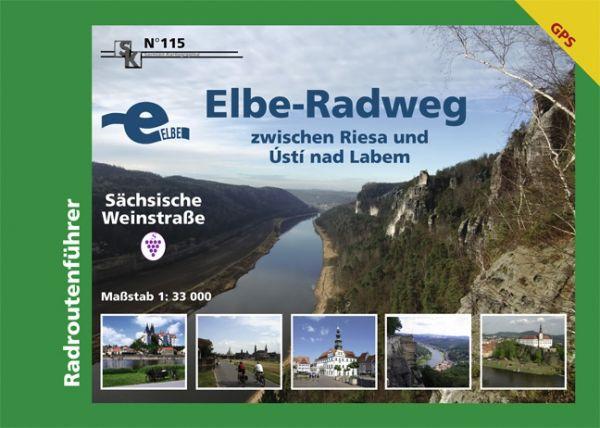 Elberadweg zwischen Riesa und Usti nad Labem