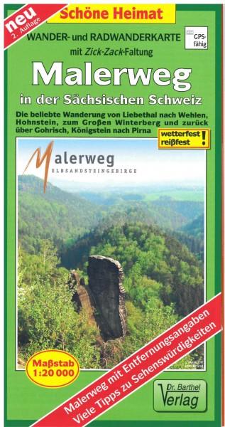 Malerweg in der Sächsischen Schweiz
