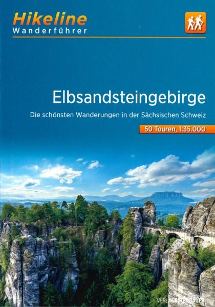 Hikeline Wanderführer Elbsandsteingebirge